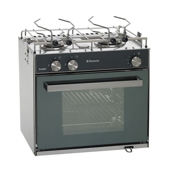 Horno con placa de cocina de 2 quemadores sunlight dometic - Placa de cocina ...