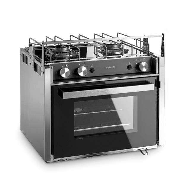 Horno de gas moonlight two con grill y placa de cocina de for Cocina y horno de gas