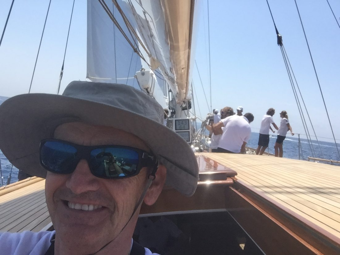 Toni Lopera en Windrose of Amsterdam Dahlberg S.A The Superyacht Cup