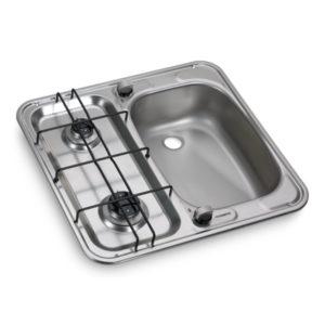 Cocina de gas y fregadero HS 2460 R Dometic 9103301752