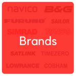 brands navico, B&G,furuno, sailor, simrad, transas, satlink, timezero, lowrance, cobham