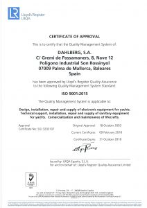 Certificate ISO 9001 2015 ENG.